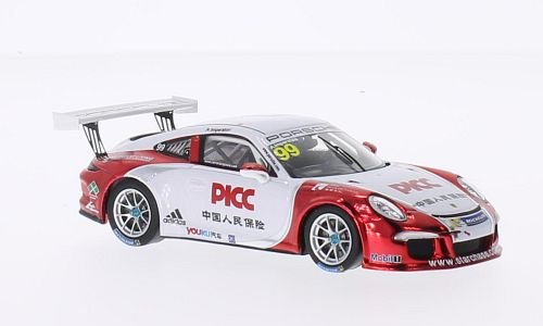 Porsche 911 (997) GT3 Cup, No.99, PCCA, 2014, Model Car, Ready-made, Spark 1:43 (Porsche Gt3 Cup)