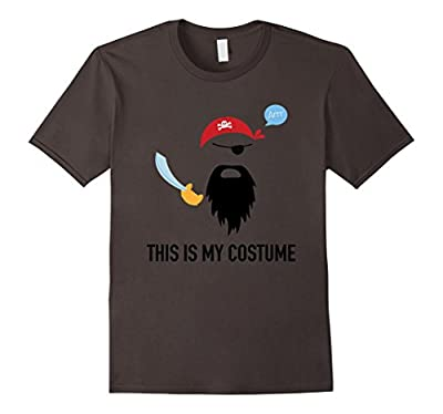 This Is My Pirate Costume Funny T-Shirt Cool Halloween Gift