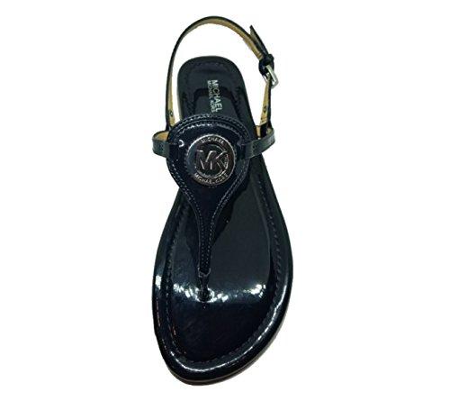 (Michael Kors Capri Thong Patent Leather, Admiral, Size 9 )