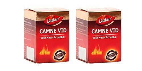 Pack of 2 - Dabur Camne Vid Vidrawan Ras with Kesar & Jaipahal - 25 Tablets