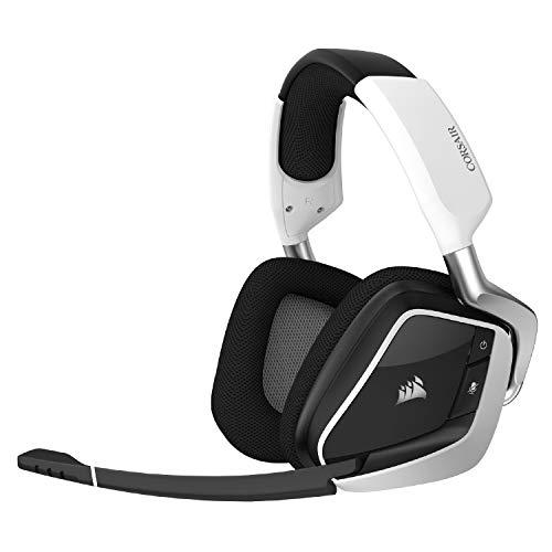 Auriculares Gamer Inalámbricos Corsair Void Elite Wireless White Y Rgb