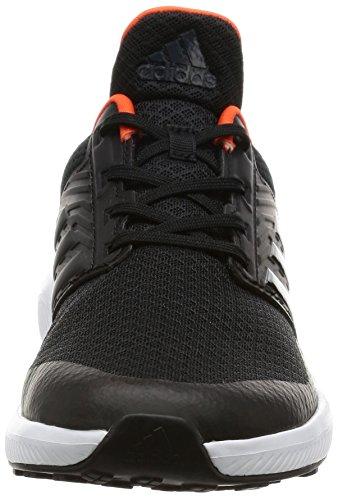 adidas Rapidarun K, Zapatillas Unisex Niños Negro (Negbas/negbas/energi)