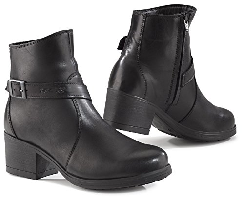 TCX X-Boulevard Waterproof Black Women's Motorcycle Boot 8050W 37 / (Boulevard Counter)