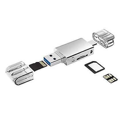 YAOMAISI - Lector de Tarjetas Micro SD/NM (aleación de Zinc ...