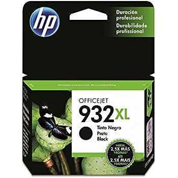HP 932XL Black Original Ink Cartridge, High Yield (CN053AN) for HP Officejet 6100, 6600, 6700, 7110, 7510, 7610, 7612