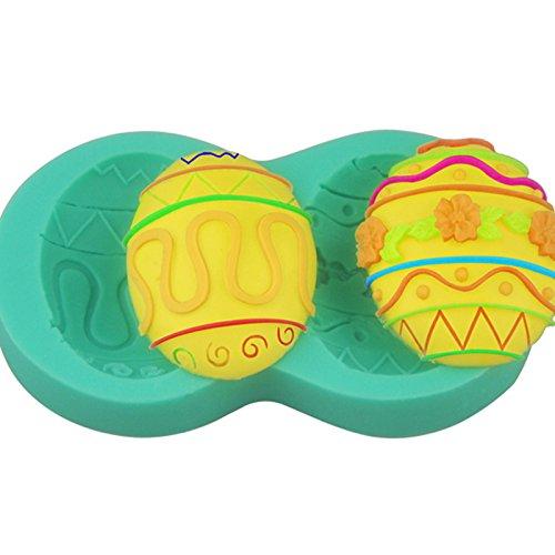 Deco easter Eggs candy mold, Sugarcraft fondant gunpaste cak