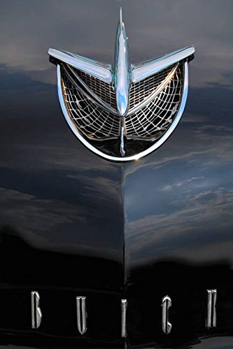 Imagekind Wall Art Print entitled Buick Jet by Kevin Fermoyle | 16 x (Buick Hood Ornament)