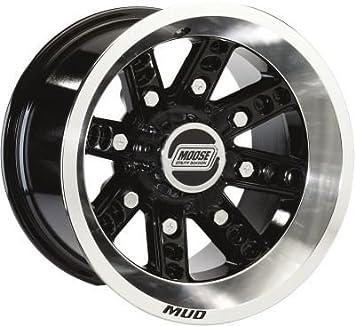 Alce utilidad 427 mecanizado 12 x 8 4/110 4 + aleación de 4 quad UTV rueda: Amazon.es: Coche y moto