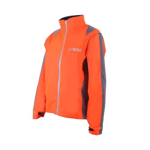 Proviz Nightrider Womens Jacket, Safety Orange, 16 by Proviz