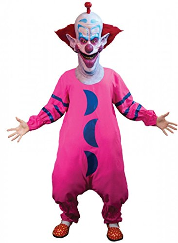 Killer Klown Costume (MyPartyShirt Slim Killer Klown Costume - Std-Adult Standard (8-12))