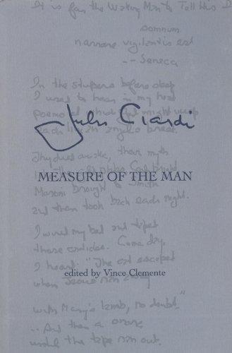 John Ciardi Measure of the Man