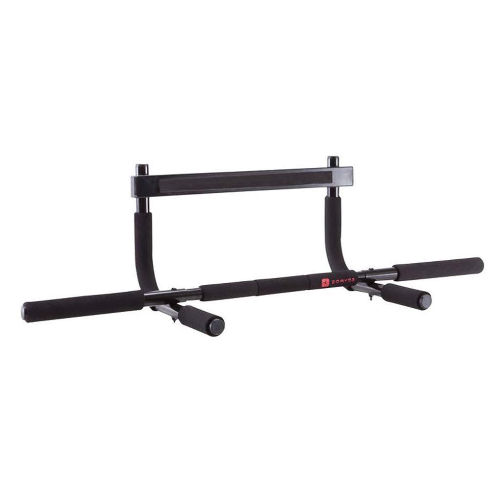 Klimmzugstangen Pull-up Bars Innen Haushalt Bar Horizontale Tür Ausrüstung Pull-Ups Rahmentür Wand Fitness Stäbe (Farbe   schwarz)