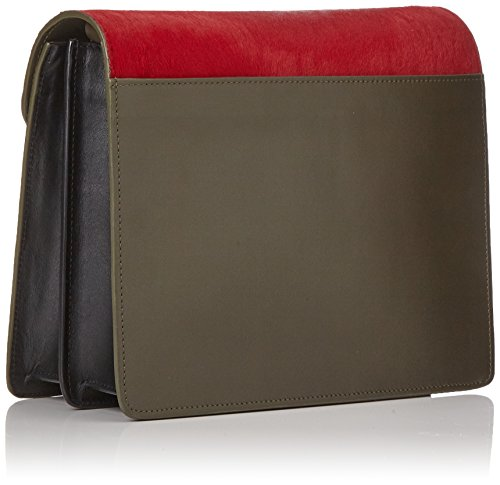 Paul & Joe Goctave - Borse a tracolla Donna, Rot (Rouge/red), 20x10x24 cm (B x H T)