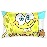 Pillow Cases Spongebob Squarepants Guitar Throw Cushion Covers Body Pillow Cover for Car Sofa Bed Home Decor 20'x30'