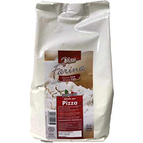 Gluten Free Flour fo pizza and pasta 2.2 lbs (1 kg) by Polselli