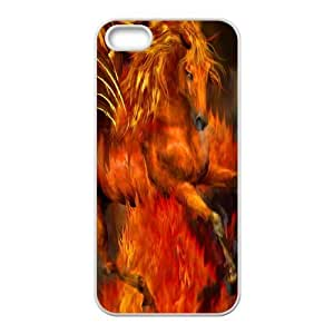 Fire Horse Customized Case for Iphone 5,5S, New Printed Fire Horse Case