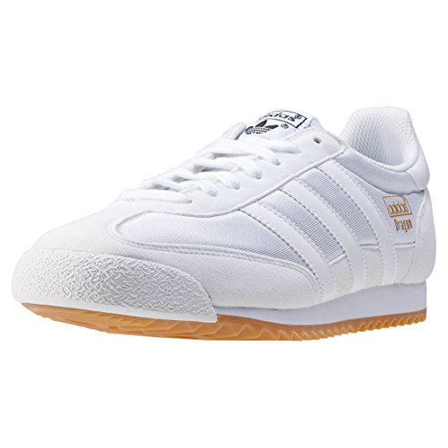 adidas Herren Dragon Og Trainer Low Weiß