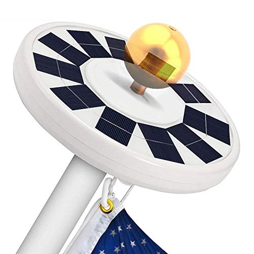 Led Solar Flag Light
