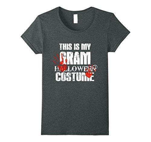 Womens This is my Gram Halloween Costume shirt XL Dark Heather