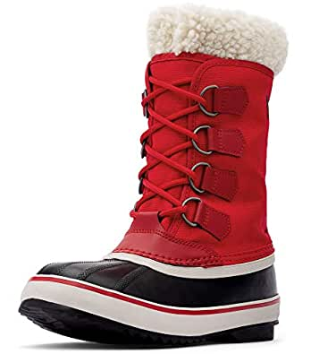 SOREL Womens 1308911 Winter Carnival Red Size: 5