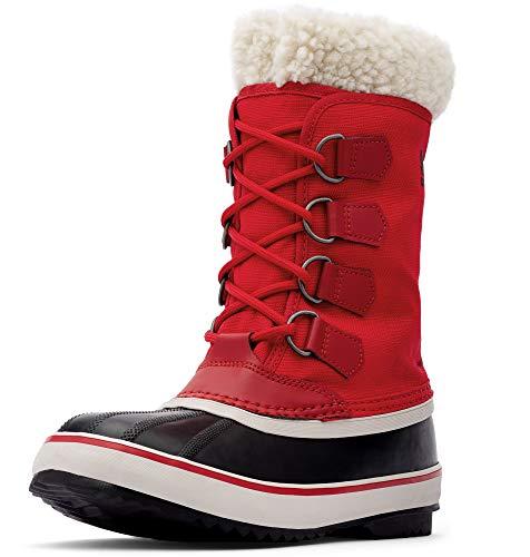 - Sorel - Women's Winter Carnival Waterproof Boot for Winter, Mountain Red, 7 M US