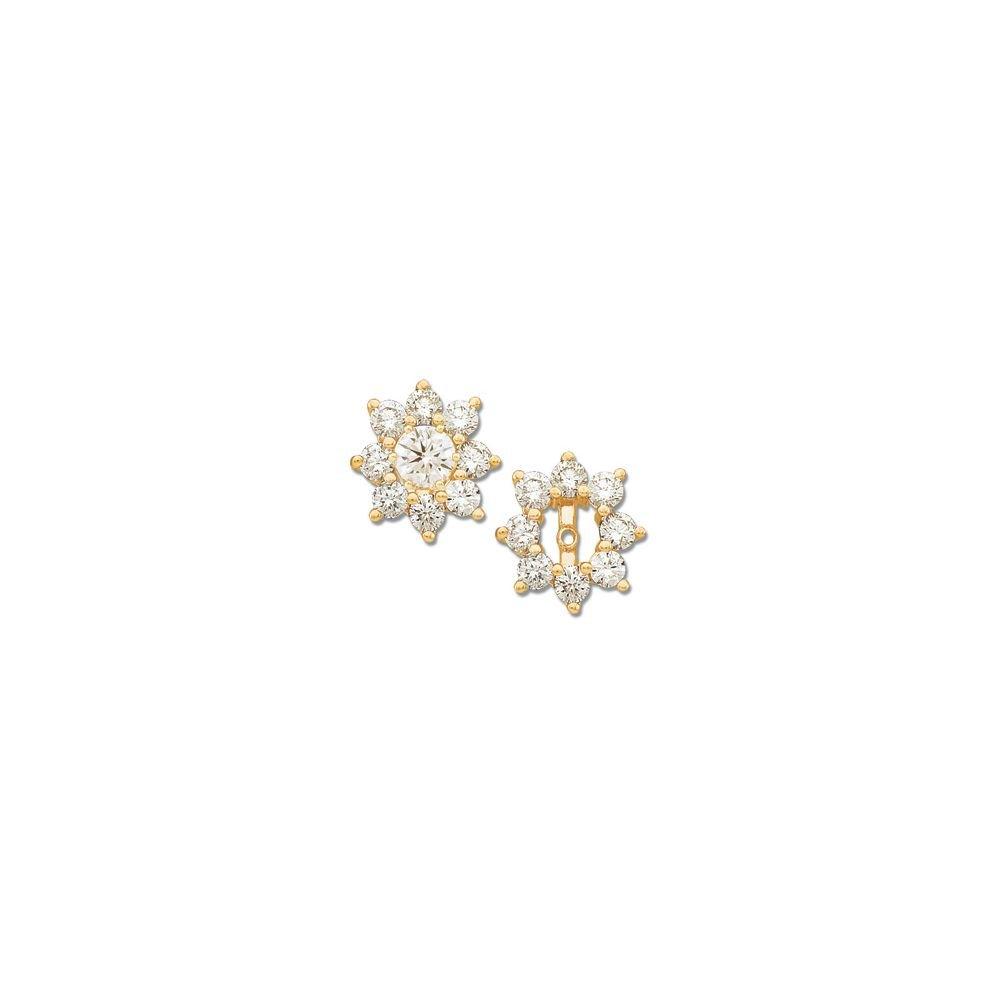 STU001- Diamond Earring Jacket by STU001-