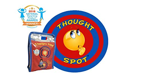 Thought-Spot - A Portable Parenting Time Out Mat - 24 Inch Diameter Made from Recyclable Non-Toxic Materials)