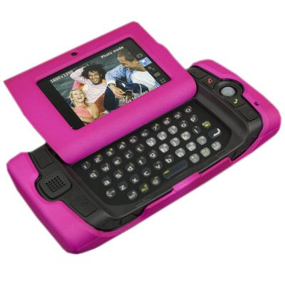 Talon Rubberized Phone Shell with Belt Clip for Danger Sidekick 2008 - Hot Pink Hot Pink Sidekick