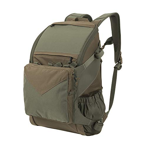 Helikon-Tex Bail Out Bag aka BOB Backpack, Low-Profile, Car Seat Attachable, Urban Line, Adaptive Green/Coyote Brown A