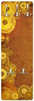 Appendiabiti da Parete attaccapanni /Golden Circles 139/x 46/x 2/cm,/ Appendiabiti da Parete Appendiabiti Appendiabiti Apalis Appendiabiti/ /Appendiabiti