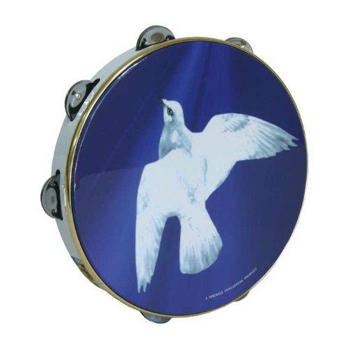 Remo Tambourine, 10'', Religious Dove by SB-Instruments