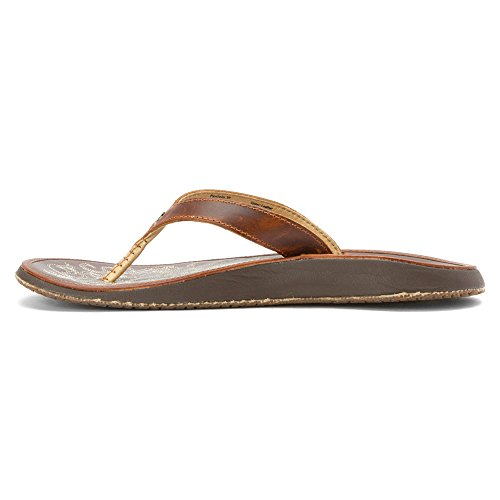 Paniolo Natural Olukai Sandal Woman Black Natural wEfq6HxFq