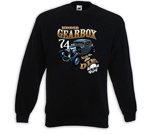 Hot Rod Pullover Gearbox Rockabilly Vintage V8 Muscle Rat Rod Gr.XXXL