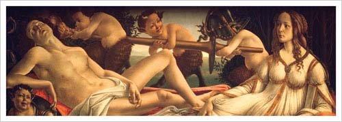 Venus and Mars, 1485 Art Print Poster by Sandro Botticelli - Venus And Mars Botticelli