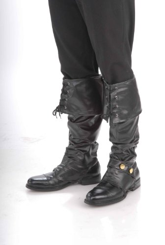 [Deluxe Pirate Boot Tops Costume Accessory] (Pirate Costumes Boot Covers)