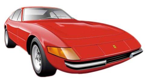 1/24 Ferrari 365GT4 Daytona 40th Anniversary Model (Model Car)