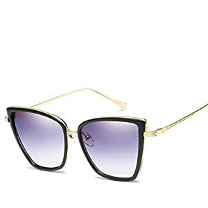 Cat Eye Frame Sunglasses Men and Women Sunglasses Approved,1