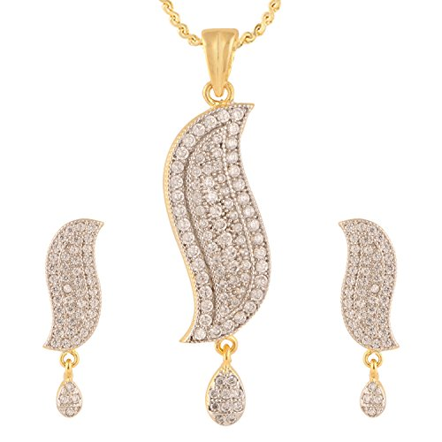 swasti-jewels-cz-zircon-fashion-jewelry-set-pendant-earrings-for-women