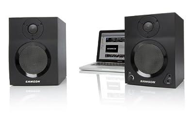 Samson MBT Active Studio Monitors with Bluetooth