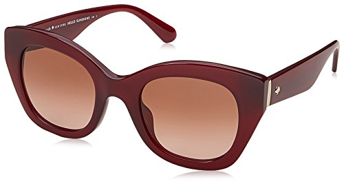 - Kate Spade New York Womens Jalena/S Opale Burgundy/Brown Gradient One Size One Size