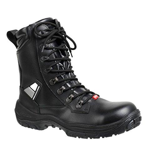 "ejendals 3325–46–talla 46""jalas 3325drylock–Botas de seguridad, color negro/gris/rojo"