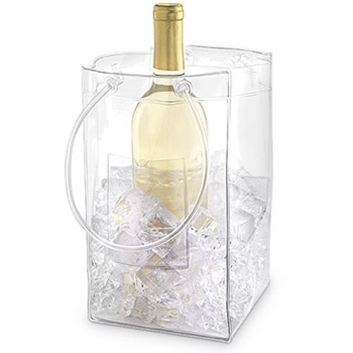 Price comparison product image The Chiller: Wine Chiller and Ice Bucket, Ice Bag Carrier with Handles for White Wine, Champagne, Cold Beer and Chilled Beverages by EPIC