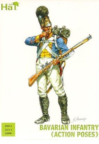 Hät 28011 - Bavarian Infantry, ActionPoses