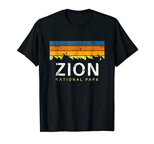 Zion National Park Vintage T Shirt Souvenirs Utah
