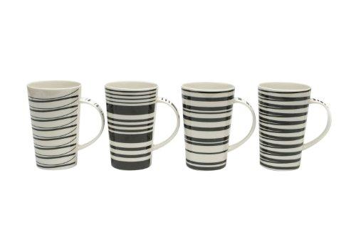 Maxwell & Williams Café Noir 13-oz. Mug - Set of 4 - Gift Boxed
