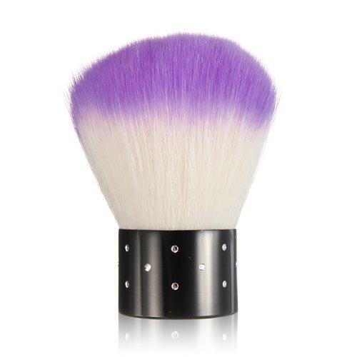 leegoal-mini-rhinestones-cosmetic-nail-art-dust-remover-face-brushpurplewhite