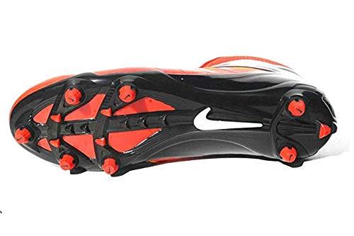 Nike Vapor Pro 3/4 Detachable Football Cleats (15, 白い/黒/オレンジ)