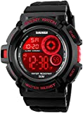 Fanmis Military Multi Function Digital LED Quartz Watch Water Resistant Electron