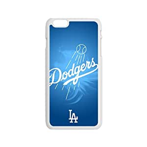 Blue Dodgers Baseball Design Hard Case Cover Protector For Iphone 6