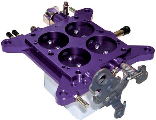 (Proform 67148 Billet Aluminum Square Bore Vacuum Secondary Carburetor Base Plate and 750 CFM Carburetor Kit)